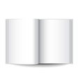 object white book vector image