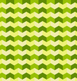 Abstract triangle chevron green seamless pattern vector image