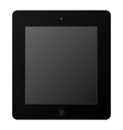 Black Tablet vector image
