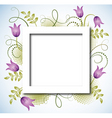 page layout postcard vector image