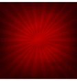 Red Texture Background With Sunburst vector image