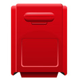 mailbox icon vector image vector image