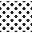 two roads pattern vector image