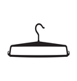 Clothes Hanger icon2 resize vector image vector image