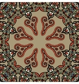 Mandala Vintage tribal design flyer motif vector image