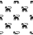 Panther icon in black style isolated on white vector image