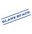 Blank Space Watermark Stamp vector image