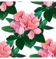 Gentle azalea pattern vector image