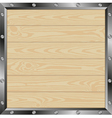 wooden planks vector image vector image