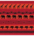 safari pattern vector image vector image