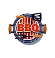 BBQ Sticker vector image