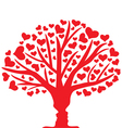 tree lovers vector image