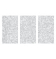 abstract low polygonal grayscale aluminum metal vector image