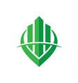 building construction design logo image vector image