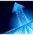 Growth Technology Arrow vector image