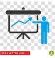 Project Presentation Eps Icon vector image