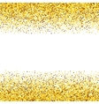 Texture gold glitter vector image