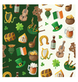 Pattern for saint patrick day vector image