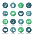Set of finance and money icons vector image