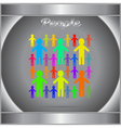 People new icon or logo vector image