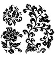 flower element vector image