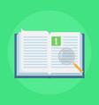 manual book icon vector image