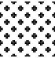 crossroad pattern vector image
