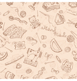 Handmade pattern vector image