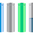 Battery Cells vector image vector image