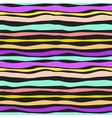 Color Waves Lines Seamless Background vector image vector image