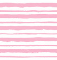 seamless pattern with light pink stripes vector image
