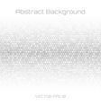 Abstract Gray Technology Cover Background vector image vector image