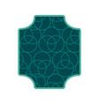 abstract frame emblem vector image