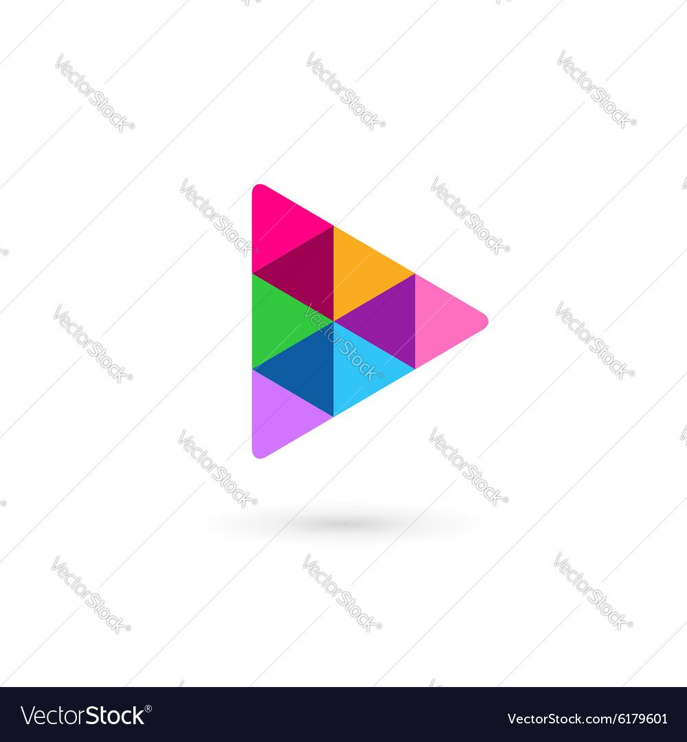 Abstract business logo icon design template with vector