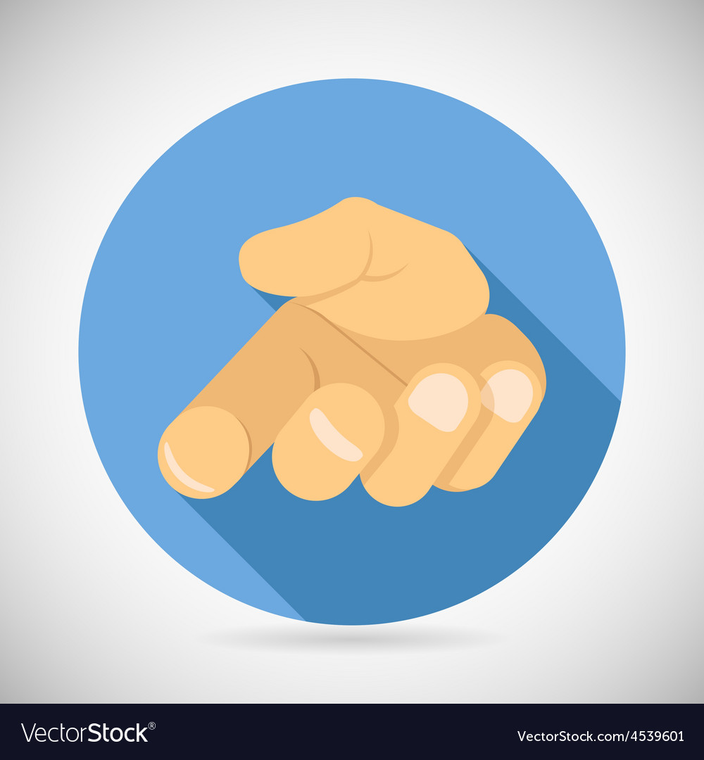 Open palm pleading icon giving hand symbol concept vector