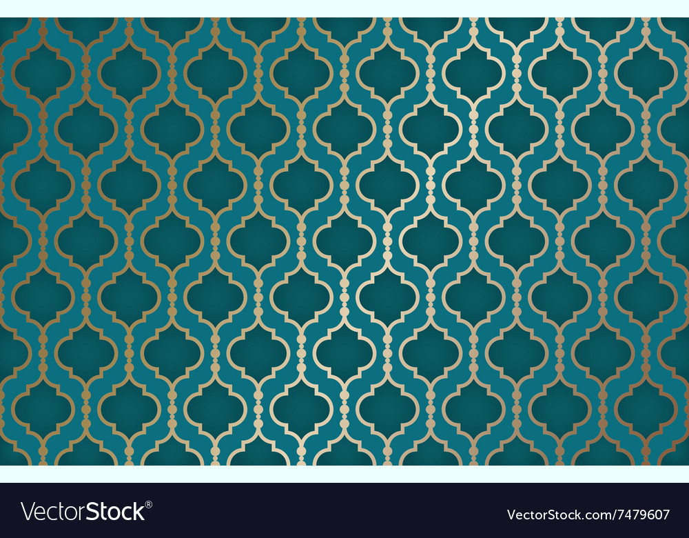 Arabic colorful background vector