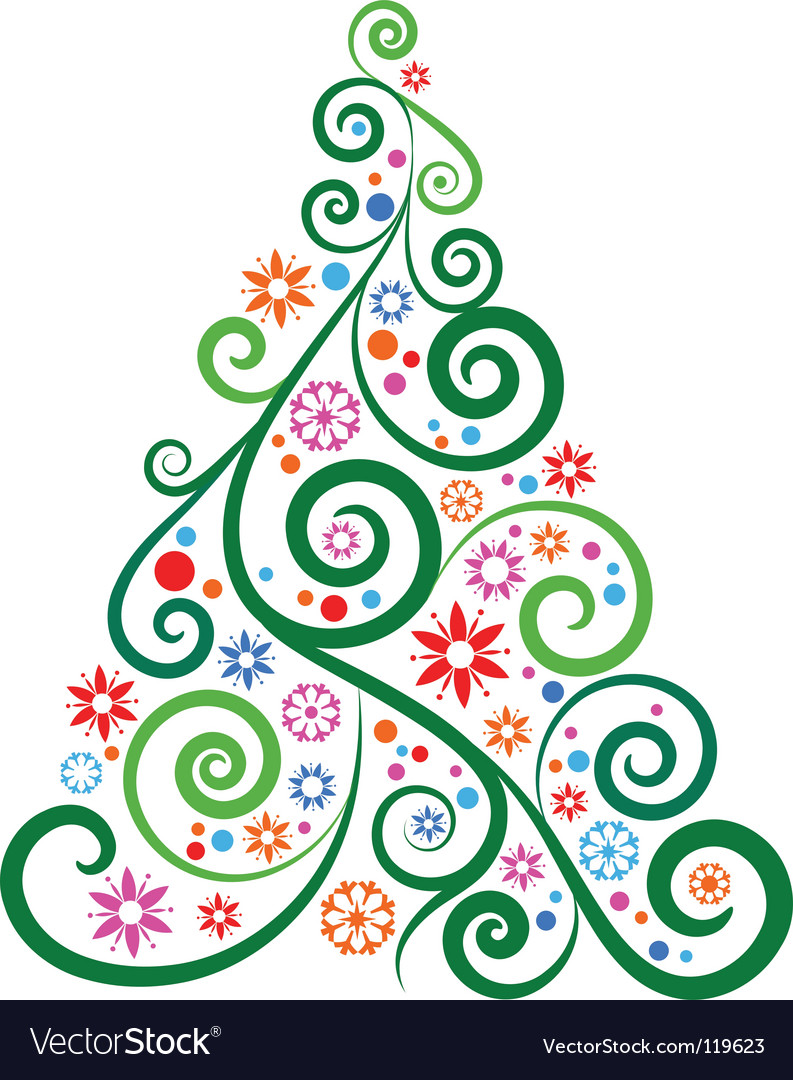 Creative christmas vector