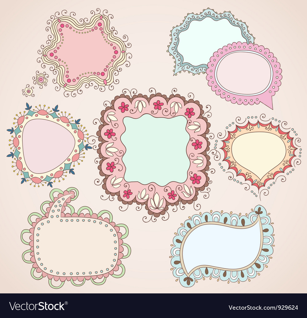 Babydrawn bubbles vector