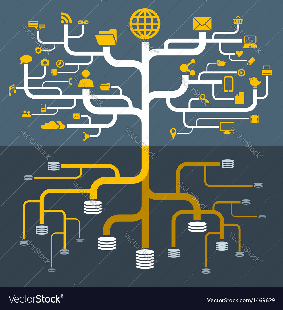 Network file storage vector
