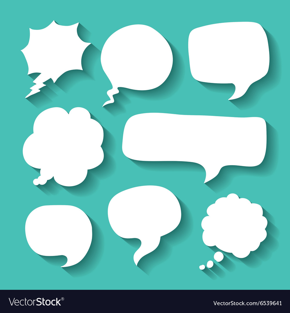 Think text balloon design vector