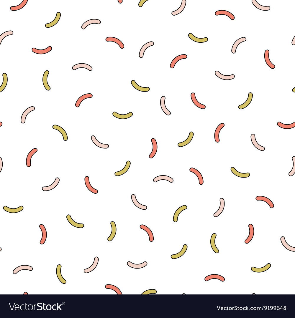 Retro memphis pattern  seamless background vector