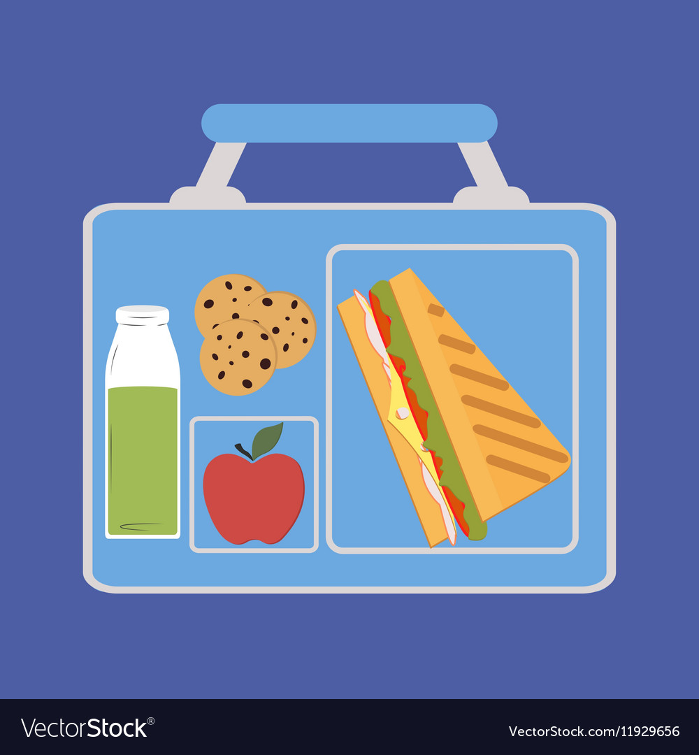 Lunchbox vector