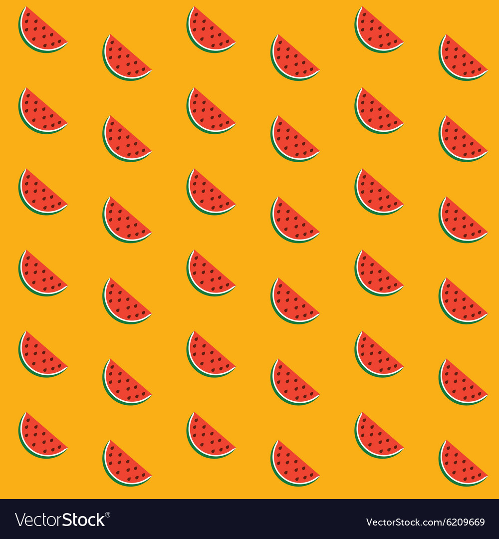 Seamless background with a pattern of juicy ripe vector