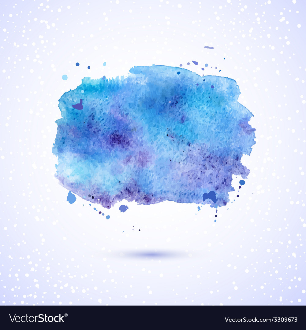 Watercolor background vector