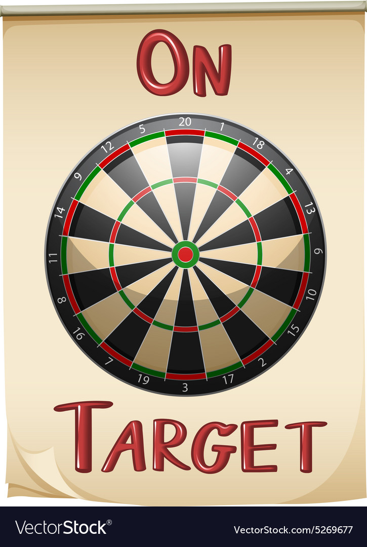 On target text and concept vector