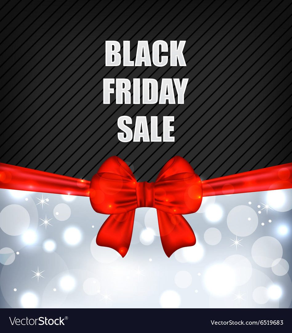 Advertising background for black friday sales vector