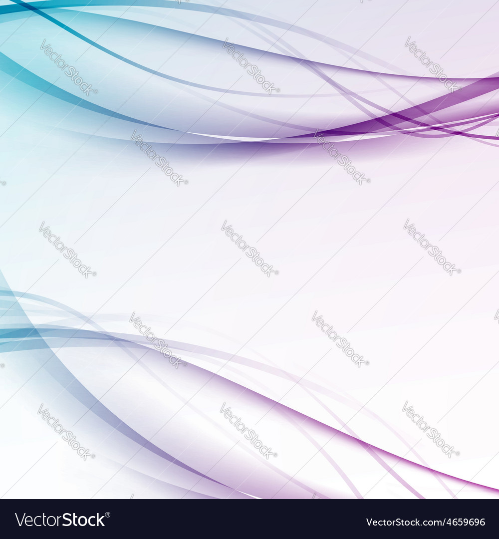 Abstract contemporary hitech swoosh line layout vector