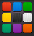 background for the app icons-set 8 vector image vector image