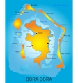 Bora Bora vector image vector image