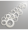 background paper rings vector image
